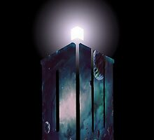 Into Space with the Tardis by audreycobb