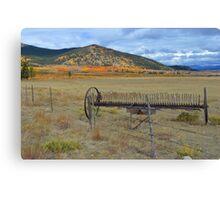 Fall in Buena Vista, Colorado Canvas Print
