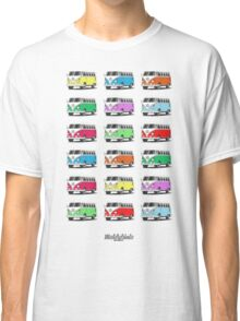 Volkswagen T1 Deluxe Bus (9 colours) Classic T-Shirt