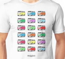 Volkswagen T1 Deluxe Bus (9 colours) Unisex T-Shirt