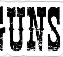 Family Guns Country (for Light Colored Products) Sticker