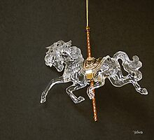 Carrousel Horse by Gilberte