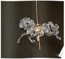 Carrousel Horse Poster
