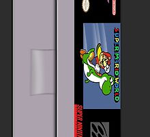 Super Mario World Cartridge Iphone Case by LumpyHippo