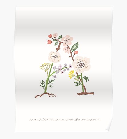 Botanical Letters A Poster