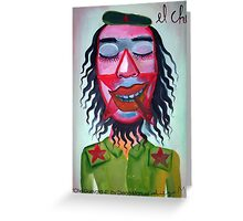 Che Guevara by Diego Manuel Greeting Card
