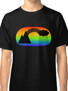 Black Rainbow (with colour) Classic T-Shirt