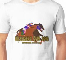 Breeders Cup 2016 horse racing design Unisex T-Shirt