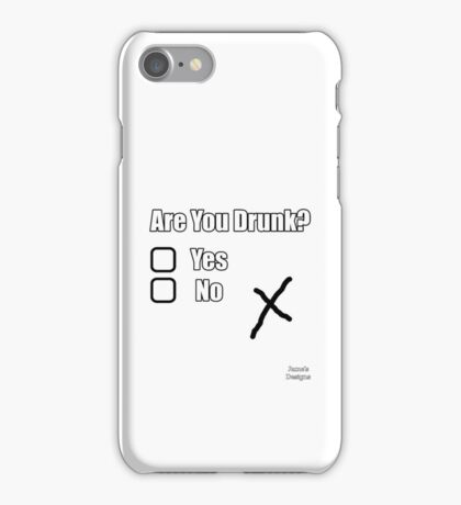 Are You Drunk Yes/No X iPhone Case/Skin