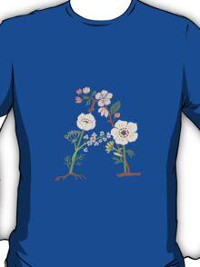 Botanical Letters A T-Shirt