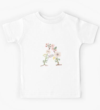 Botanical Letters A Kids Tee