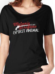 Melanie Scrofano Spirit Animal Women's Relaxed Fit T-Shirt