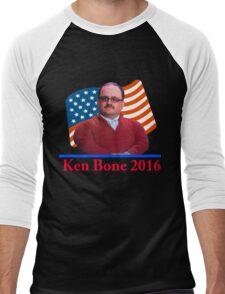 Ken Bone 2016 Men's Baseball ¾ T-Shirt