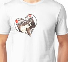 ABBA They're STILL here! Right in our hearts! Inspiringpeople design~ Unisex T-Shirt