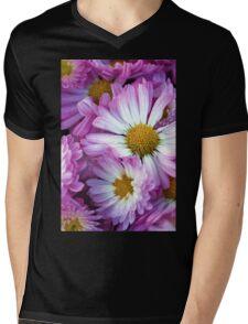 CandyStripe - Mum Mens V-Neck T-Shirt