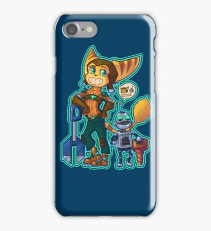 Ratchet and Clank - Destructive Duo iPhone Case/Skin