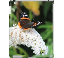 Red Admiral iPad Case/Skin