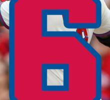 Ryan Howard Home Run Number 6 Sticker