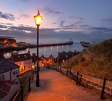Whitby Steps by lenscraft