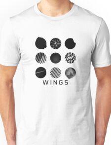 BTS- Wings - All Logos Unisex T-Shirt