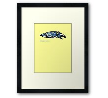 Cuttlefish Are Creative Framed Print