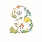 Botanical Letter B by dgarden