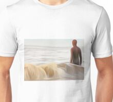 Gormley Statue (Digital Art) Unisex T-Shirt