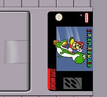 Super Mario World Cartridge Ipad Case by LumpyHippo
