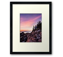 Bass Harbour Lighthouse Framed Print