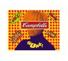 Andy Warhol Comic  Art Print