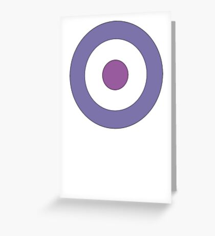 Hawkguy Target Greeting Card