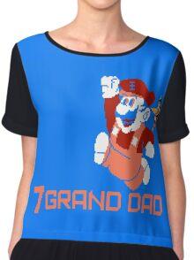 7 GRAND DAD Women's Chiffon Top