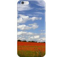 Poppy Landscape  iPhone Case/Skin