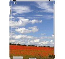 Poppy Landscape  iPad Case/Skin