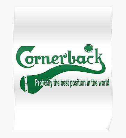 Cornerback Poster