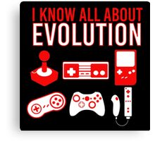 I Know All About Evolution Canvas Print