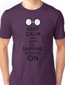 Shipping goggles Unisex T-Shirt