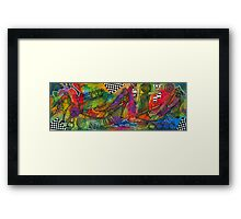 Walking About Framed Print