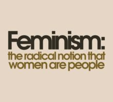 Feminism defined by Boogiemonst