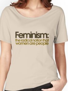 Feminism defined Women's Relaxed Fit T-Shirt