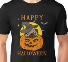 Happy Halloween For Pug Dog Lover Unisex T-Shirt