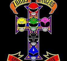 Zords N Rangers by BiggStankDogg