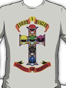Zords N Rangers T-Shirt