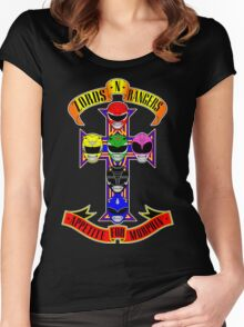 Zords N Rangers Women's Fitted Scoop T-Shirt