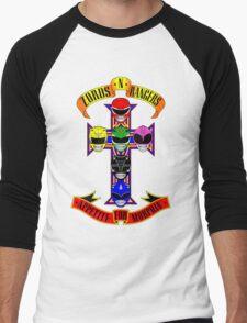 Zords N Rangers Men's Baseball ¾ T-Shirt