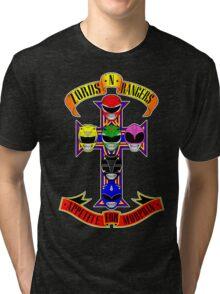Zords N Rangers Tri-blend T-Shirt