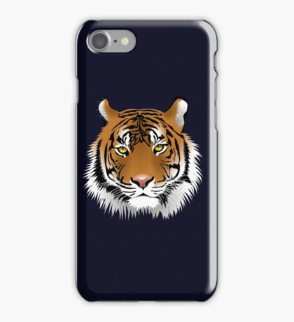 Sumatran tigers the smallest of all living tigers iPhone Case/Skin