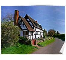 Chocolate Box Cottage Poster
