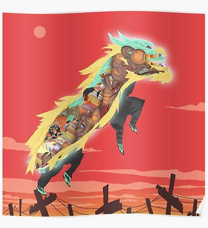 Lion Dance Poster