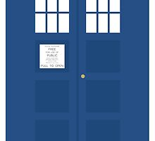 Minimal TARDIS by chestahab